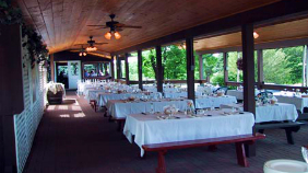 Covered Patio Party Rental